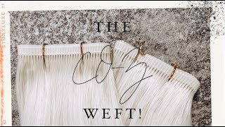 A NEW TYPE OF WEFT FOR EXTENSIONS! THE CO-Z WEFT