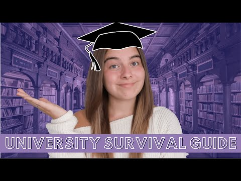 UNIVERSITY SURVIVAL GUIDE! | Things I wish I'd known/packed before Uni! #ad