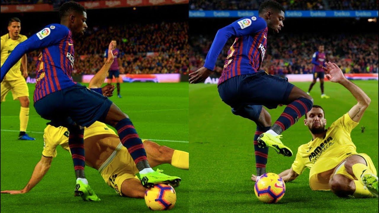 Barcelona Vs Villarreal 2 0 2018 19 How Dembele