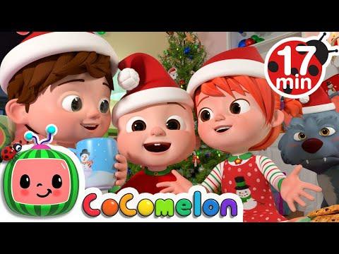 Christmas Songs Medley + More Nursery Rhymes \u0026 Kids Songs - CoComelon