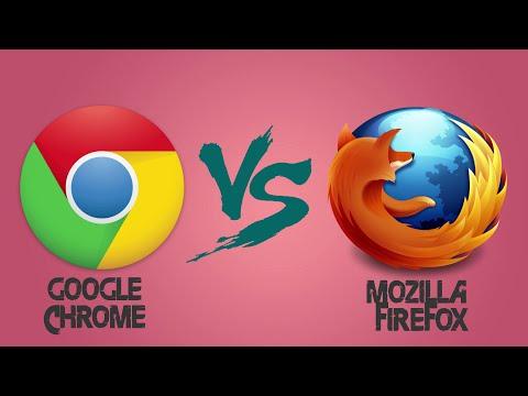 Google chrome vs Mozilla Firefox 2016