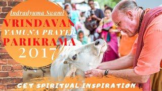 Vrindavan Yamuna prayer 2017 - Traveling in India