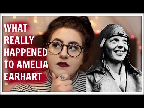AMELIA EARHART CONSPIRACY THEORIES | MICHELLE PLATTI
