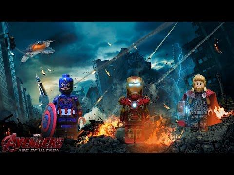 LEGO Marvel : Avengers: L'ère d'Ultron Minifigures - Showcase poster