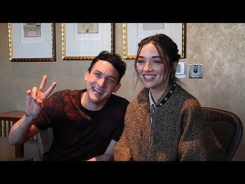 Meet Penguin's New Gotham Ally:  with Robin Lord Taylor & Crystal Reed