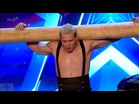 Britain's Got More Talent 2017 Dennis the Ukrainian Strongman Full Clip S11E05