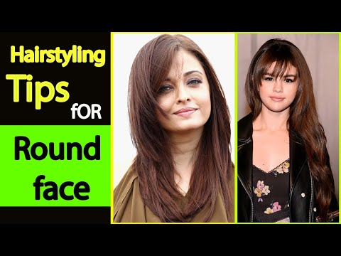 hairstyle-for-round-face-girls-2019-2020-||-hairstyle-tips-for-girls-in-hindiurdu-||-easy-hairstyle