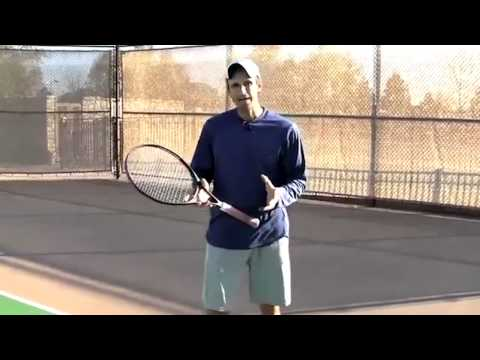 Tennis Express Academy: Open Stance Forehand With Jeff Salzenstein