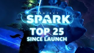 Top 25 Project Spark Creations Since Launch