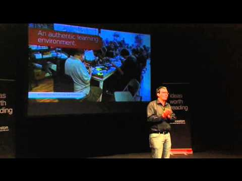 Innovation in regions: James Riggall at TEDxLaunceston