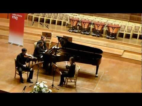 Nino Rota - Trio for flute, violin and piano. 1st movement