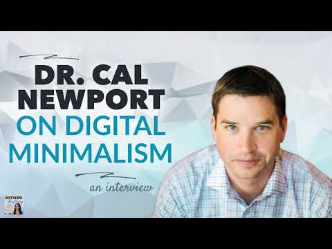 Dr. Cal Newport on Digital Minimalism - What it is & Why it Matters | Afford Anything (Audio-Only) Mp3