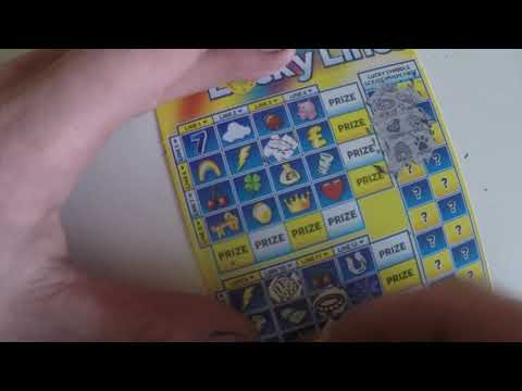 2x lucky lines scratch cards could any of them be a winner?