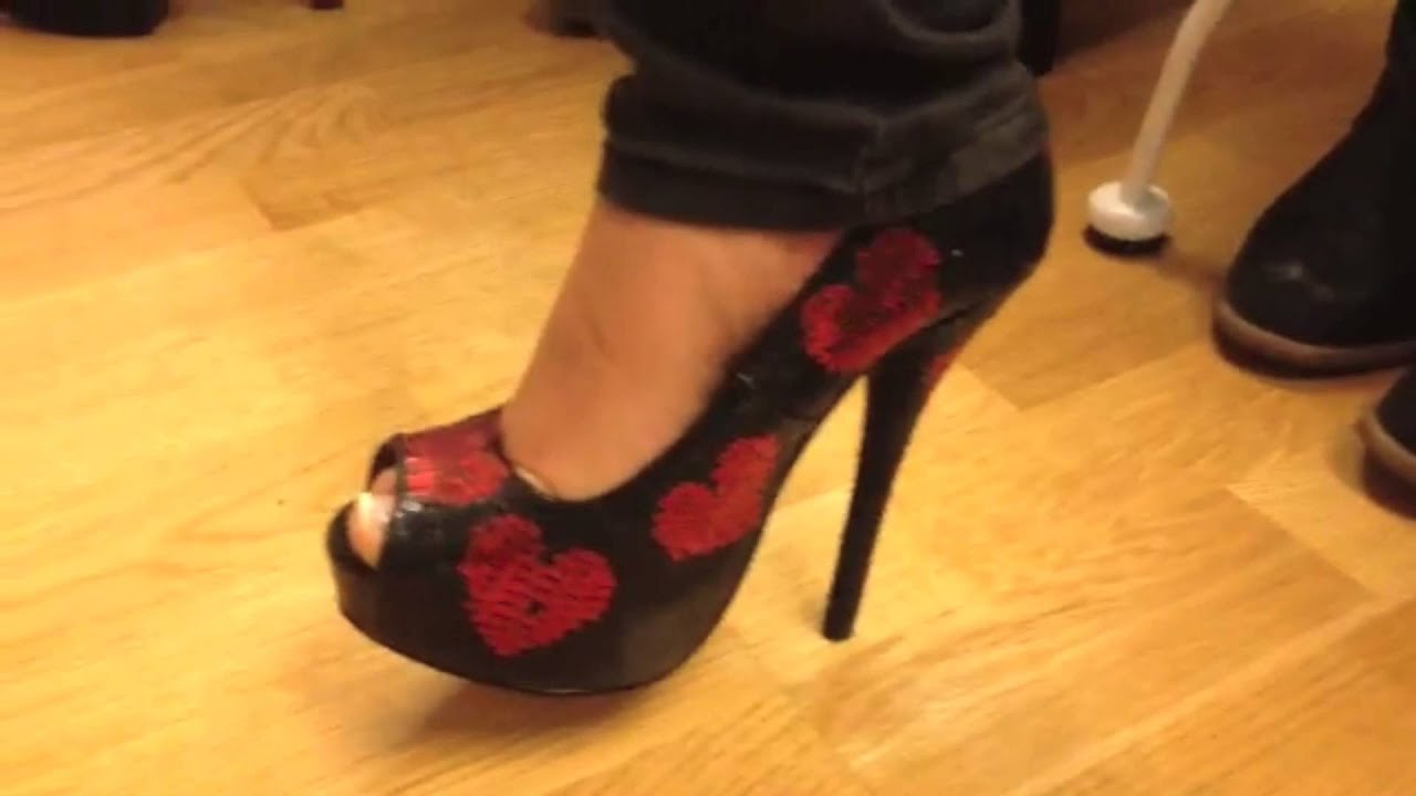 High Heels Training - YouTube