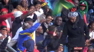 Zuma Booed during Mandela