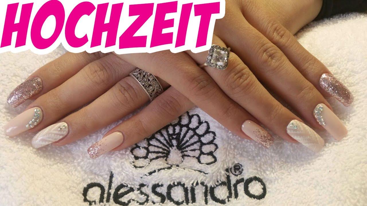 Hochzeit Nail Art #12 - Fashionpupa - YouTube