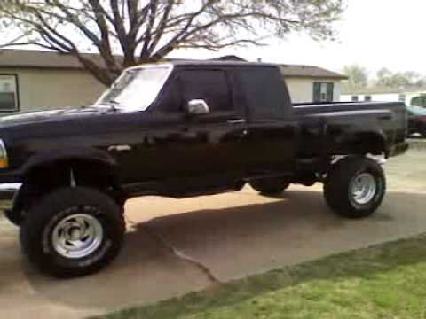 Lifted 1993 ford flareside f150 (35x12.50x15) (351 windsor ...