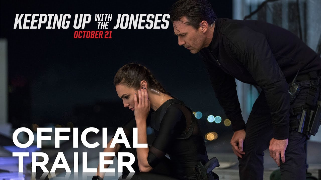 Keeping Up With the Joneses Online Movie Trailer