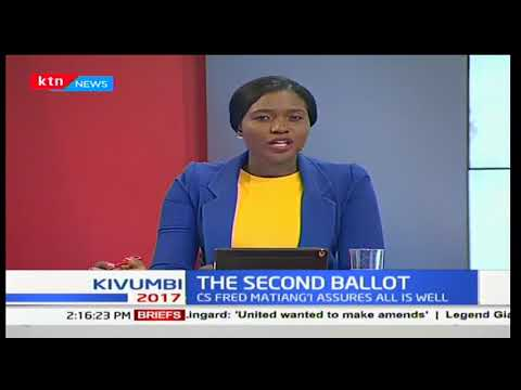 Kenyan ambassador to Burundi Ken Vitisia talks about the situation in Bujumbura