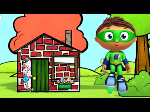 Super WHY! Full Episodes English ✳️  The Three Little Pigs: The Return of the Wolf ✳️  S01E49 (HD)