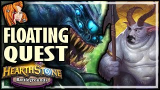 A QUEST TO FIND FLOATING WATCHER? - Hearthstone Battlegrounds