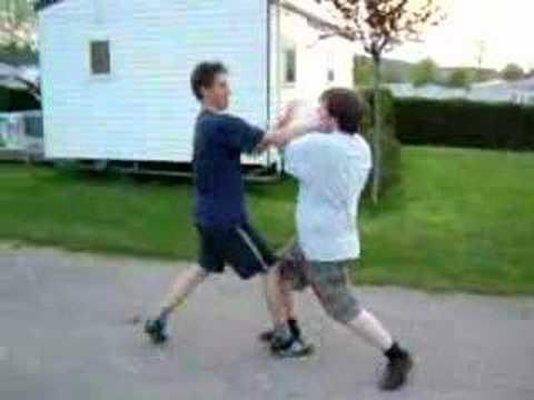 Karate Fight in Normandie