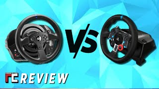 logitech G29 vs Thrustmaster T300RS side by side review