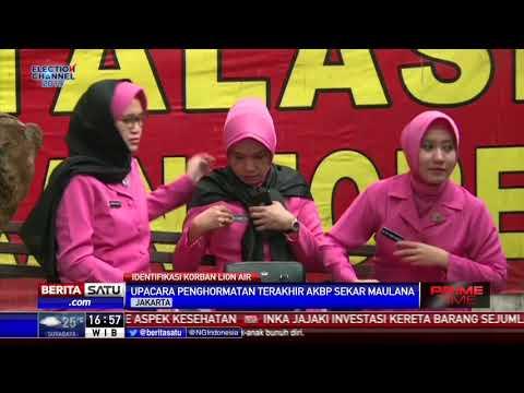 Polri Beri Penghormatan Terakhir kepada AKBP Sekar Maulana Mp3