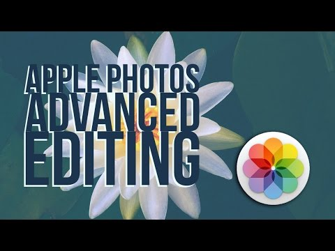 Apple Photos Tutorial - Advanced Adjustments and Levels