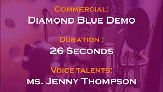 Jenny Thompson voice actor - Demo Diamond Blue
