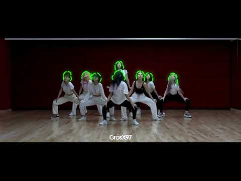 TWICE - Feel Special Dance Practice With Scribble Effect