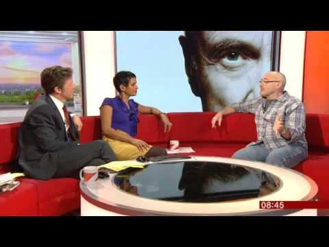 Phil Collins BBC Breakfast 2016