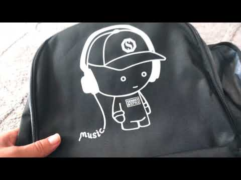 Luminous Backpack with USB Charging - 2018