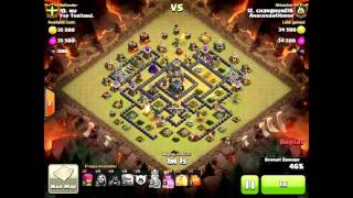 Clash of Clans 20151019 TH9 A1 (GoHo)