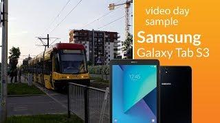 Samsung Galaxy Tab S3 camera test: day sample video (1080p)