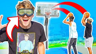 Crazy DIZZY GOGGLES Basketball Challenges!