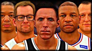 I Made EVERY NBA COACH into a SUPERSTAR PLAYER…