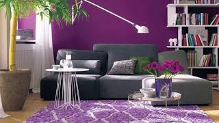 SomaliBeautifulHome| Lilac color: lavender and lilac charm in interior