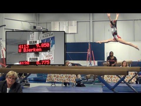 Whitney - Level 4 Gymnastics AA Champion (38.55)