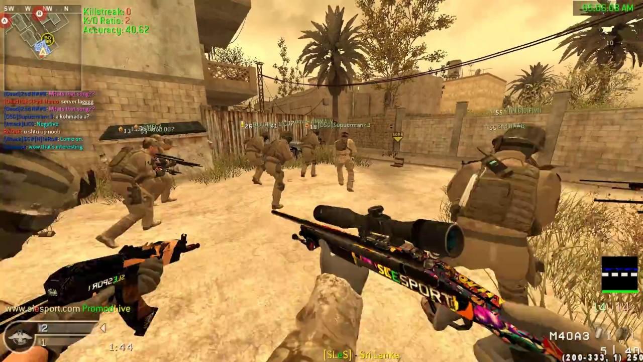 CoD4 promod | Public gameplay/Mess around - getplaypk