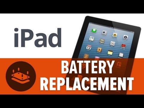 How to: Replace the Battery in an iPad (3rd Gen)