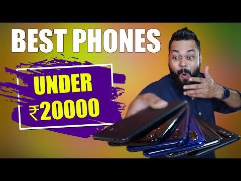 TOP 6 MOBILE PHONES UNDER 20,000 BUDGET ⚡⚡⚡ April 2019