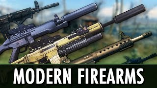 Fallout 4 Mod: Modern Firearms - Gunsmith Edition