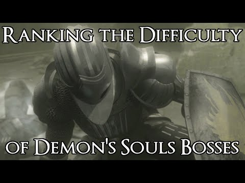 Ranking the Demon's Souls Bosses from Easiest to Hardest [#1-23]