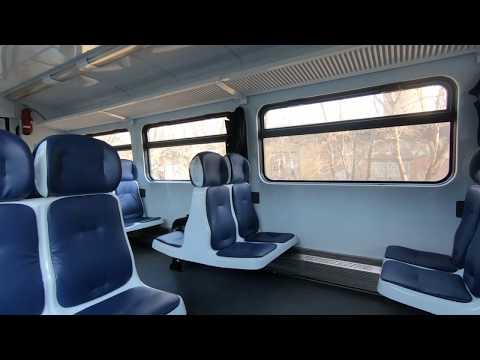 РА1-0025, маршрут: Ржев-Балтийский - Торжок / Train RA1-0025, Route: Rzhev - Torzhok