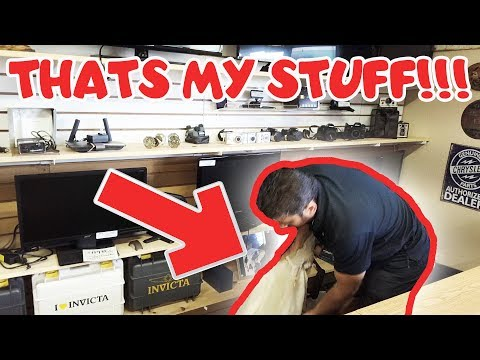 FINDING MY STOLEN STUFF IN A PAWN SHOP