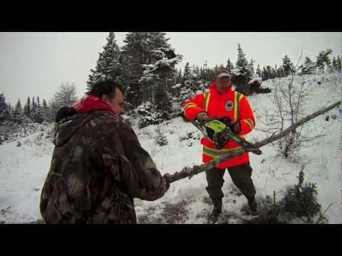 Winter Camping. Rabbit Hunt. Jan 2013