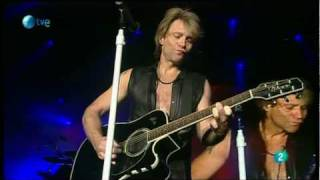Bon Jovi - Wanted Dead or Alive - Rock In Rio Madrid 2010 HQ