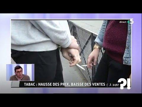 Tabac : hausse des prix, baisse des ventes #cadire 06.04.2018