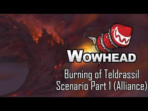 Burning of Teldrassil Scenario Part 1 (Alliance)